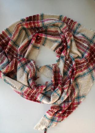 Красивенний большой теплий шарф от немецкого бренда street one