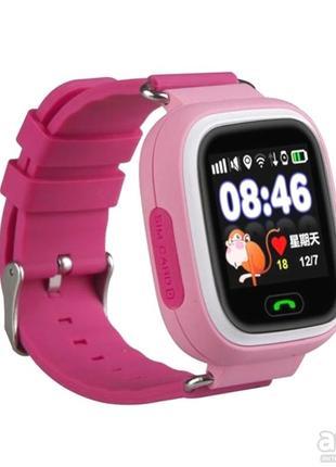 Детские смарт-часы smart baby watch q90 с gps трекером