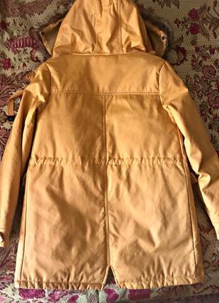 Брендовая куртка( парка) pull&bear