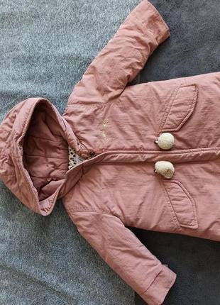 Осенняя курточка zara на малышку
