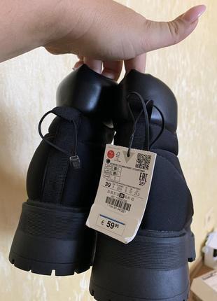 Ботинки zara7 фото
