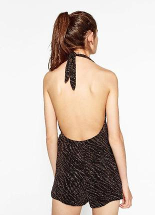 Короткий комбинезон-платье zara s
