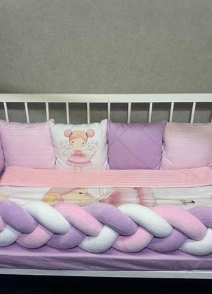 Комплект в кроватку «фея»