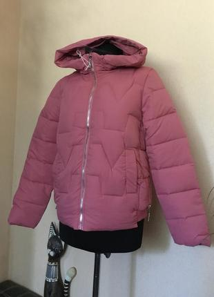 🔥скидка🔥стильная куртка курточка пуховик деми демисезонная