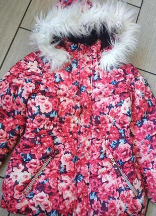 Зимняя курточка на рост 128 см