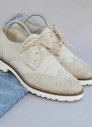 Кожаные туфли в идеальном состоянии 38р 25см стелька1 фото