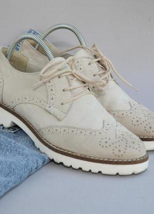Кожаные туфли в идеальном состоянии 38р 25см стелька10 фото