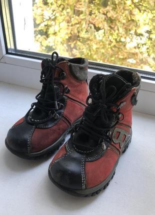 Осенние ботинки (как для мальчика так и девочки)