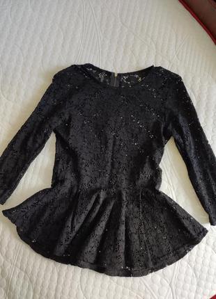 Блуза кружевная amisu