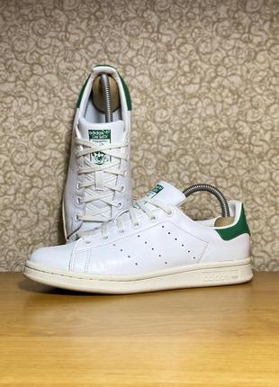 Детские кожаные кроссовки adidas stan smith оригинал размер 38 2/3