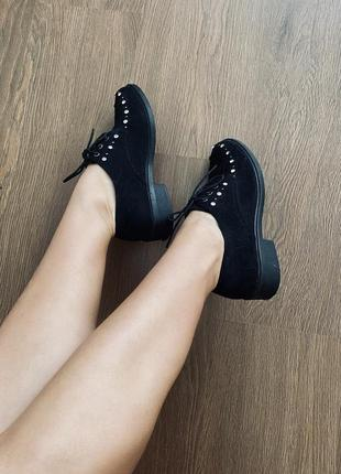 Туфли на шнурочках1 фото