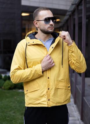 Мужская осенняя куртка парка