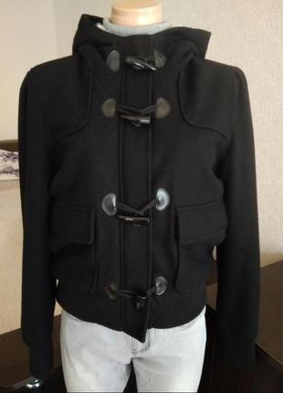 Шерстяная тёплая куртка atmosphere primark1 фото