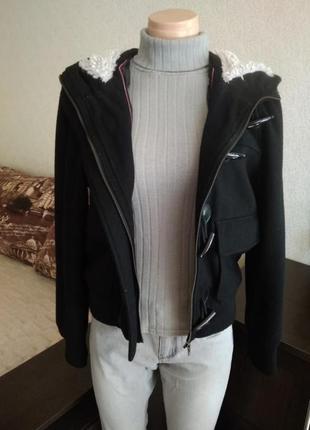 Шерстяная тёплая куртка atmosphere primark5 фото