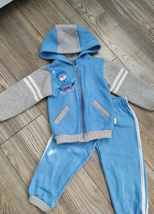 Утепленный костюм для мальчика
