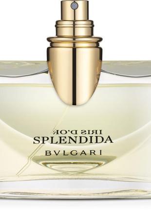 Парфюмированная вода bvlgari splendida iris d'or 100 ml
