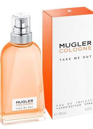 Парфюмированная вода thierry mugler cologne take me out