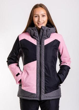 Куртка женская горнолыжная , зимняя термо куртка just play