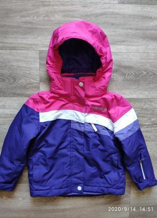 Зимняя лыжная куртка nevica, рост 92-98см