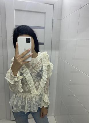 Нереально шикарная блуза h&m 😍😍😍