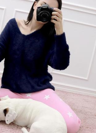 Пушистый мягкий свитер6 фото