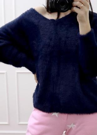 Пушистый мягкий свитер1 фото