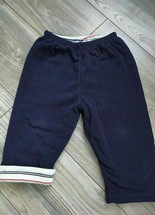 Теплющие флисовые штаны