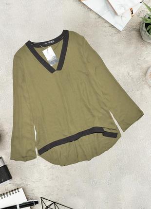 Асимметричная блуза рубашка atmosphere