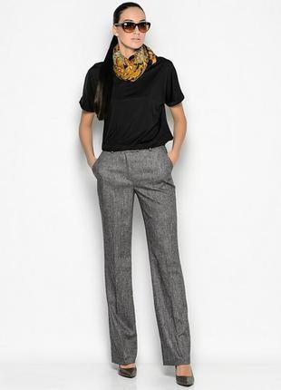Роскошные полушерстяные базовые брюки немецкого бренда marс aurel