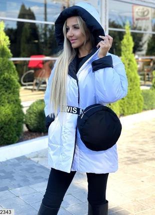 Новые куртки двухсторонки + сумка с поясом в комплекте. размеры 42-52