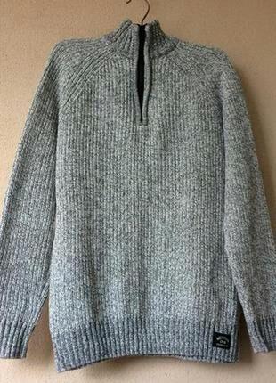 Красивый стильный вязаный свитер h&m