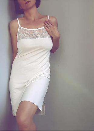Сорочка andra lingerie ваниль le1007-c