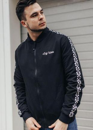 Мужской бомбер ветровка курточка off white