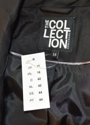 Брендовый черный плащ тренч с поясом и карманами the collection debenhams вьетнам этикетка4 фото