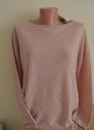 100 % кашемир! стильный нежный пуловер свитер esmara германия, р. 40/42 евро3 фото