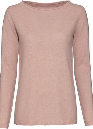 100 % кашемир! стильный нежный пуловер свитер esmara германия, р. 40/42 евро1 фото