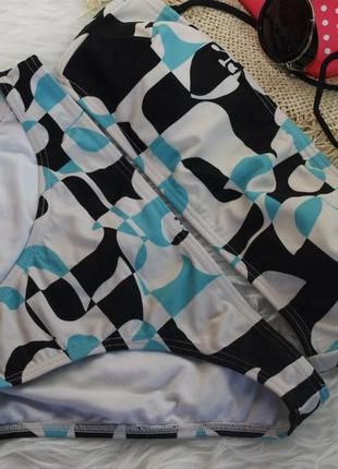 Roxy купальник бандо в геометрический принт