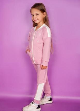 Детский спортивный костюм с вышивкой