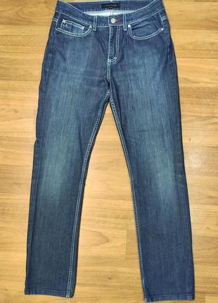 Tommy hilfiger прямые синие джинсы w28