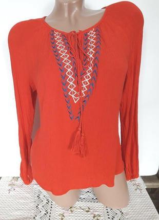 Красивая блузка, размер на l-xl