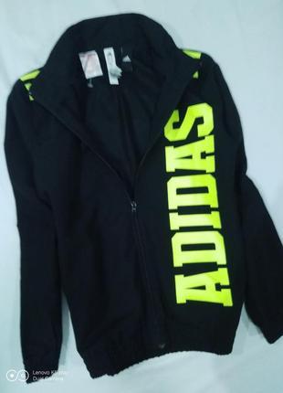Кофта, куртка,ветровка, мастерка adidas- 11-14 лет-152-154 -adidas-не ношена-