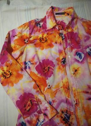 Рубашка хлопковая женская seidensticker