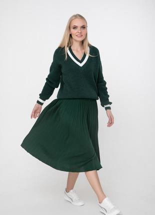 Пуловер в классическом стиле 42-54 р