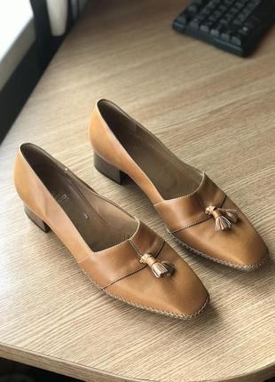 Итальянский кожаные туфли torlasco