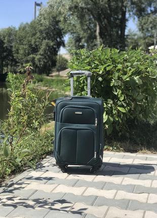 Акция! маленький  тканевый  чемодан ручная кладь польша