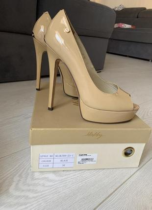 Лаковые туфли antonio biaggi