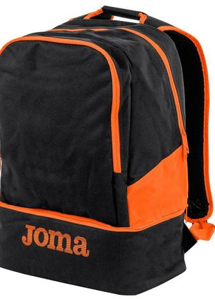 Новый спортивный рюкзак joma черно-оранжевый