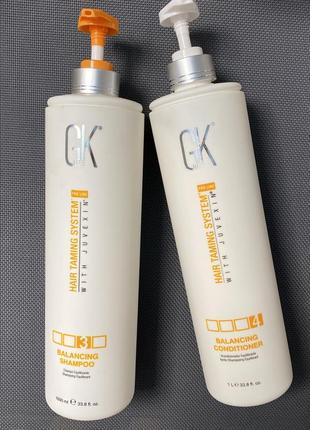 Global keratin balancing shampoo conditioner