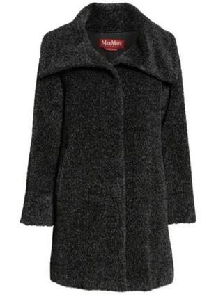 Max mara studio gregory пальто шуба альпака шерсть