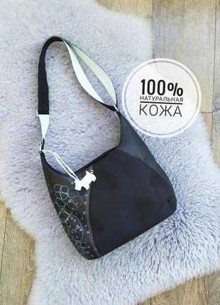 Натуральная кожа сумка кросбоди карманы оригинал